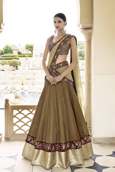 Indian designer outfit by Nakkashi cheap and good discount