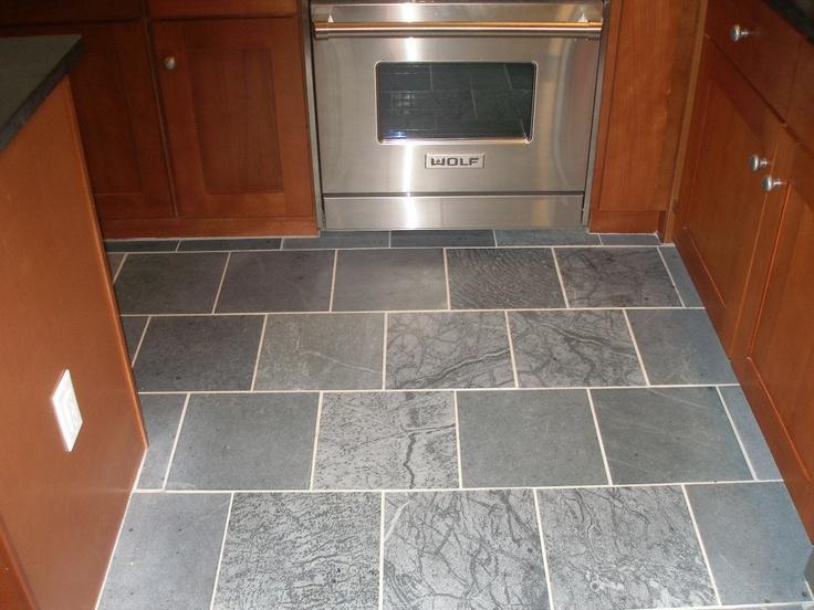 Soapstone Tile Floor Kitchen Renovation Flooring