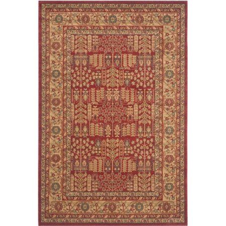 Safavieh Mahal Phylliss Power-Loomed Area Rug or Runner, Red