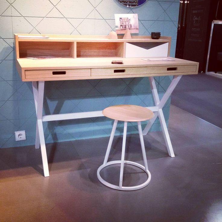 YoYo atelier | Desk by #hartô #paris .  #equiphotel #exhibition #design #desk