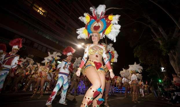 Canary Islands: Carnival of Santa Cruz de Tenerife, Feb 4-18, 2018 - DESIREE MARTIN/AFP/Getty Images