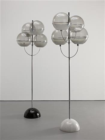 """Vico Magistretti, """"Colleoni"""" lamps, c. 1971"""