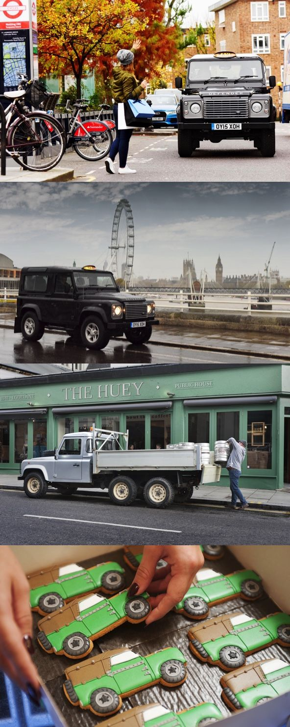 The last Land Rover Defender is now a London Taxi. Land Rover Defender's product will be ending soon (at the end of December 2015) due to costly safety revisions. Maybe design director Gerry McGovern doesn't find the Defender cool enough. Despite this, the Defender is the only Land Rover I really wish to own.