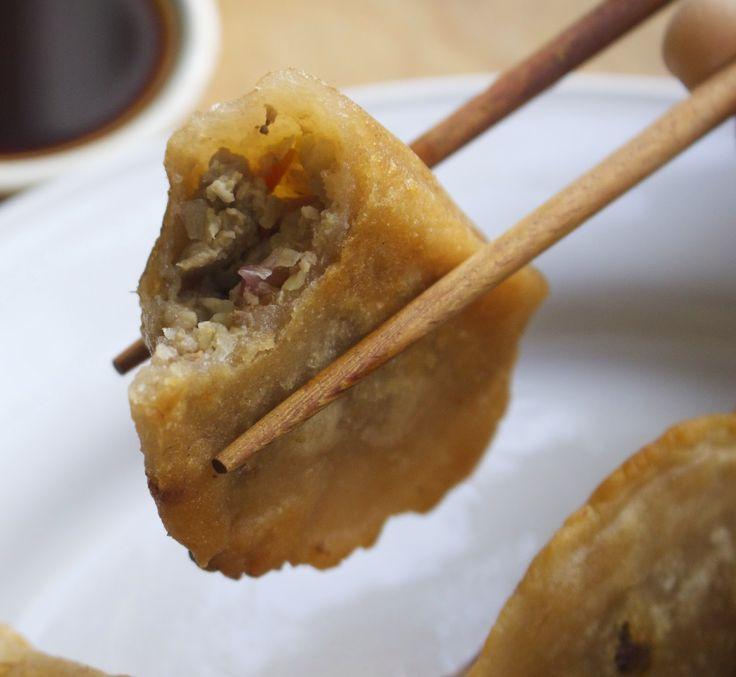 Paleo Cassava Flour Korean Pork Dumplings (Autoimmune-Friendly)