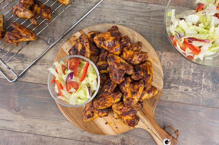 Chicken Wings Marinade für den Backofen oder Grill