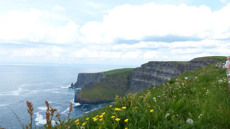 Looking north along the Cliffs Of Moher