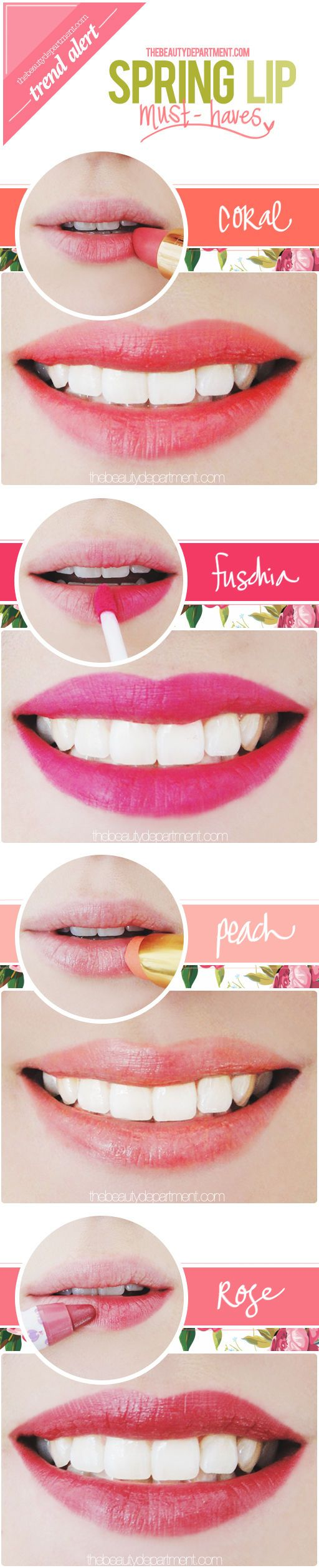 thebeautydepartment.com spring must haves http://thebeautydepartment.com/2014/05/pretty-pick-me-up/