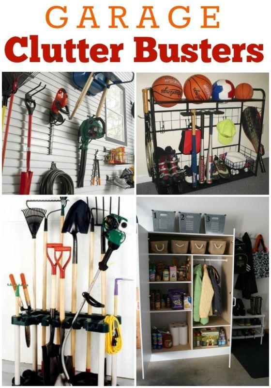 Garage: Clutter Busting Storage Solutions Part 2