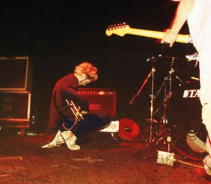 Layne Staley; first Mad Season show at the Crocodile Cafe, Seattle -October 12, 1994.