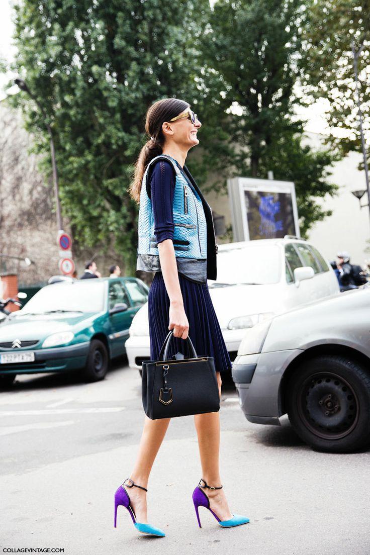 Giovanna Battaglia Streetstyle Fashion week