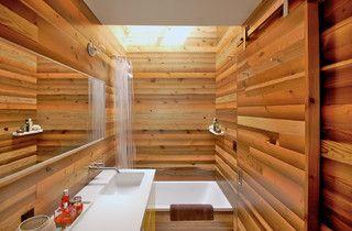 Japanese Bath House Inspired Bathroom - asian - bathroom - portland - by Right Arm Construction