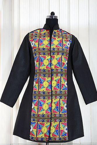 Stylish winter jacket.
