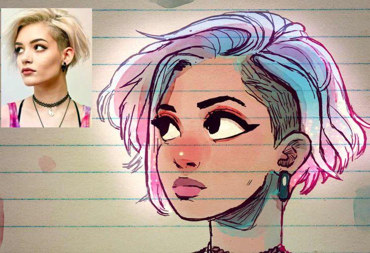 Fotos in Cartoons verwandelt