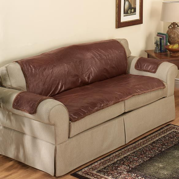 Superior Distressed Leather Couch Seat Covers Picture