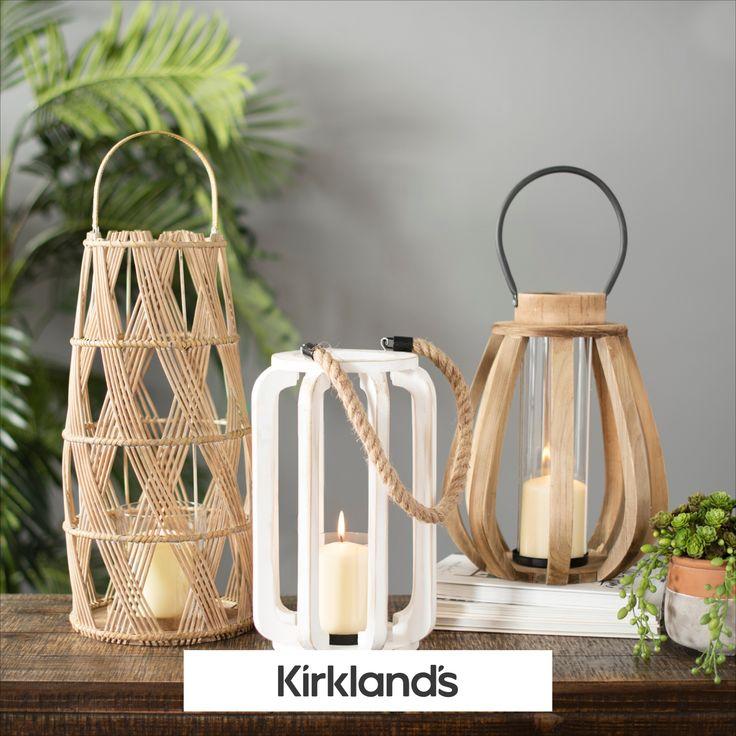 Home Decor | Lanterns in 2020 | Kirkland home decor ... on Lanterns At Kirklands id=99914