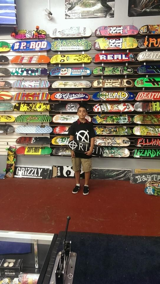 We got Tyler set up today here at Origin, we can get you set up as well! Don't forget about our $55 bundle pack! Three Origin shirts and deck for $55 bucks!!!!