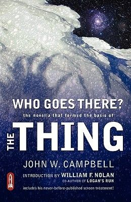 A book with one of the five Ws or H in the title: Who Goes There? by John W. Campbell