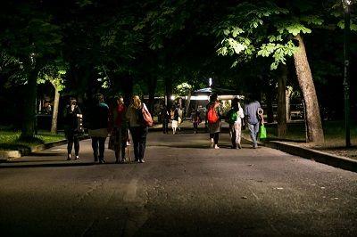 Bologna installati oltre 300 led per la nuova illuminazione nei parchi
