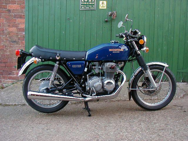 1977 Honda CB400F (400/4)
