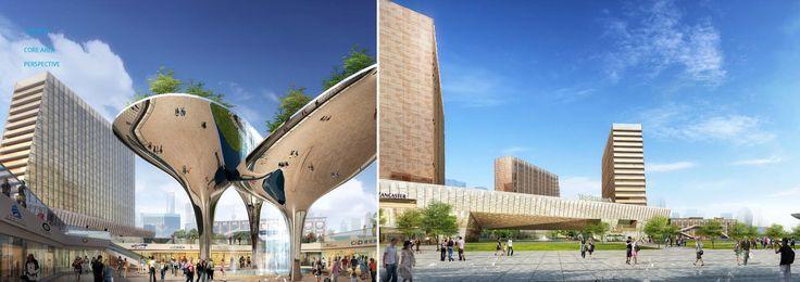 Gallery of Xin Hua Pudong Waterfront Development Winning Proposal / Inbo + NITA - 4
