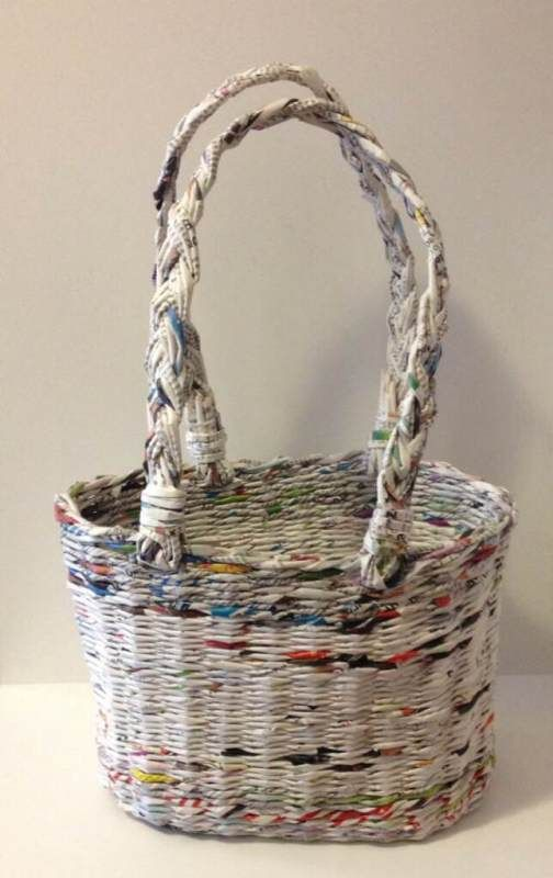 PRACTICAL – PAPER – CAPACIOUS These are today's baskets.