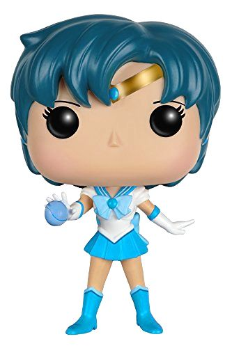 Official Sailor Mercury Sailor Moon Funko Pop! Figure! More images and shopping links here http://www.moonkitty.net/buy-sailor-moon-funko-pop.php