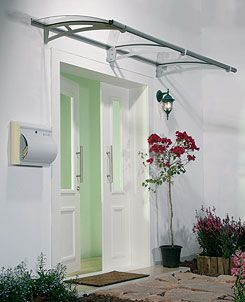 French Door Awning Images | Modern Door Canopy