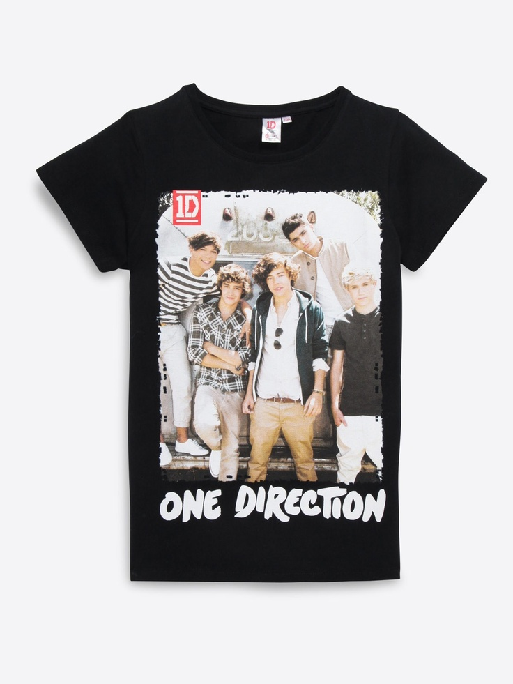T-shirt One Direction ado fille