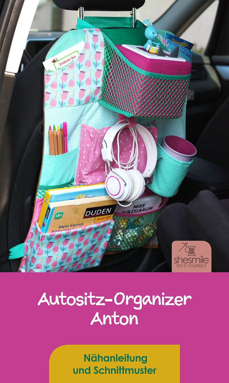 Car Seat Organizer Anton (sewing instructions and patterns)