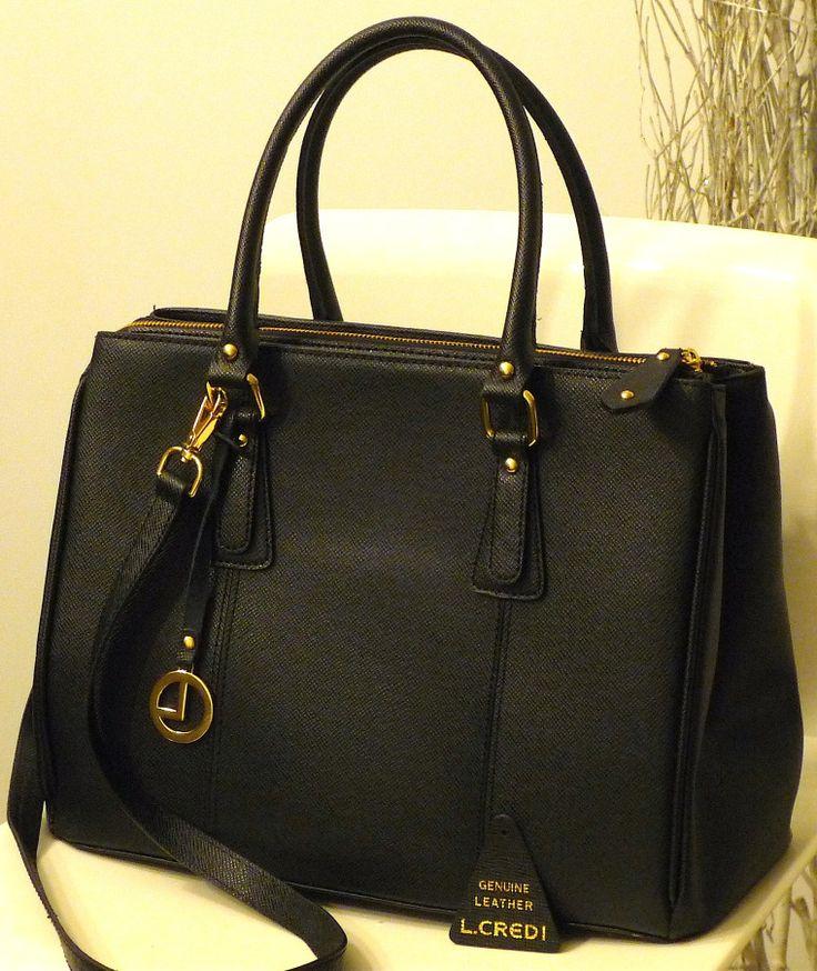 L.Credi Handbag black