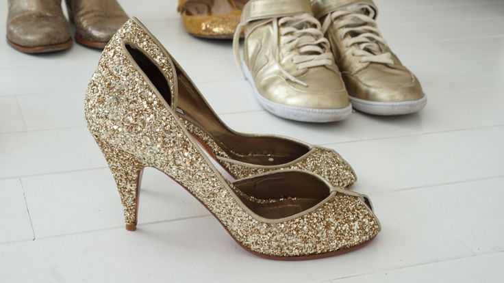 patricia blanchet escarpin paillettes dor es clodette chaussures pinterest. Black Bedroom Furniture Sets. Home Design Ideas