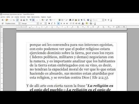 Conocer la Verdad: Apocalipsis 17 vs 2 al 6