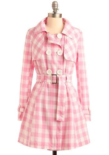 pink gingham!  Adorable