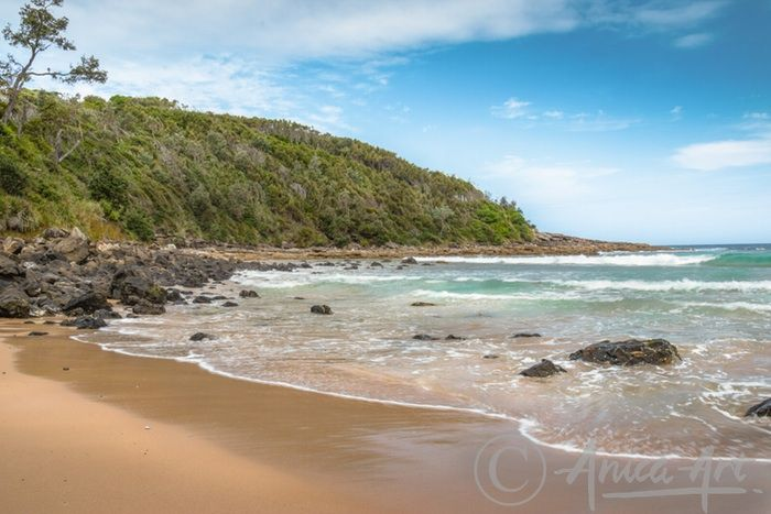 Pristine northern end of Mollymook Beach - Pristine north end of Mollymook Beach