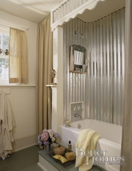 Modern Rustic Shower wonderful modern rustic shower shopping for curtains this way on