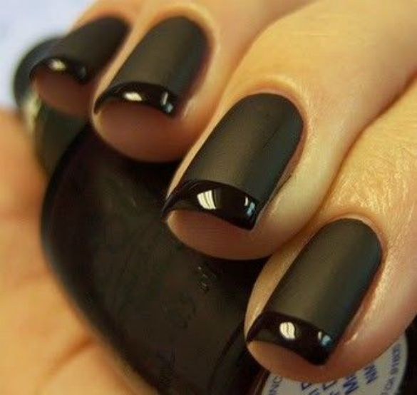 22 Elegant Black Nail Designs That Look Edgy and Chic. - 61 Best Nail Art Images On Pinterest Nail Arts, Nail Design And