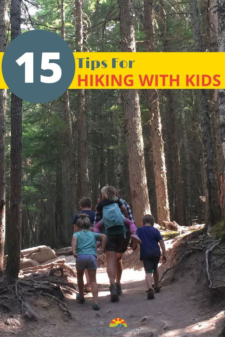 We have gone on hikes over 6 miles long with our 4 kids under 9 years old and…