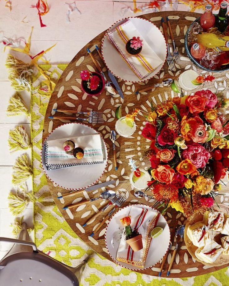 Tables Chics Style Mexicain pour vos Fiestas
