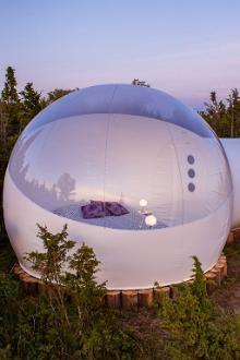 Erstes Bubble-Hotel in Estland eröffnet