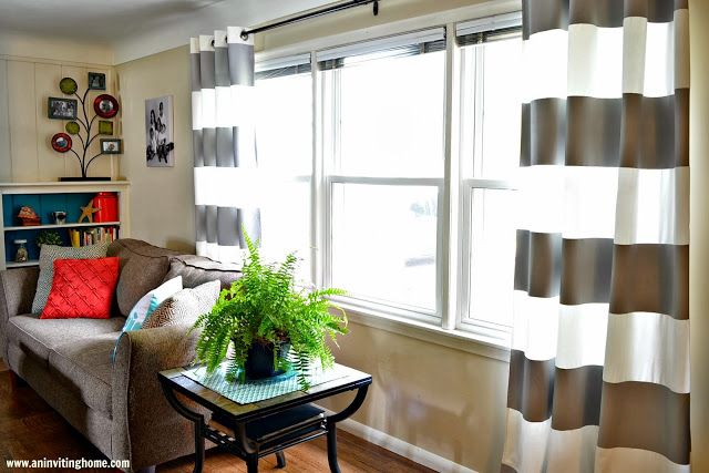 Best 25 Striped Curtains Ideas On Pinterest Gray Couch
