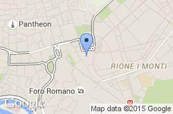 Mercado de Trajano, mapa de localización