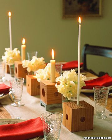 Whimsical candle holders