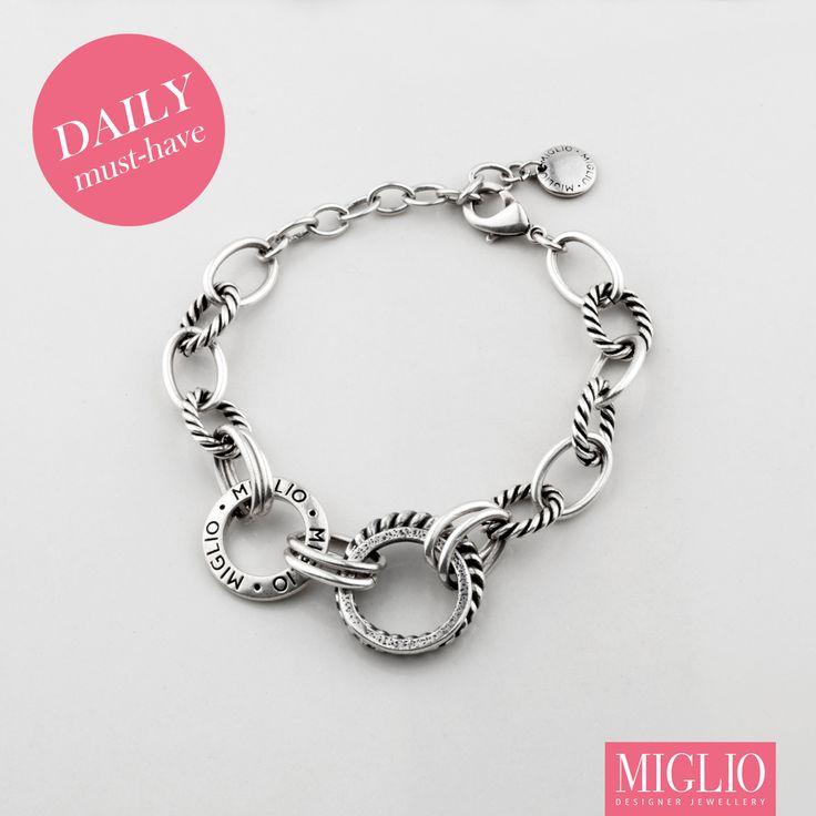 Classic Burnished #silver #bracelet