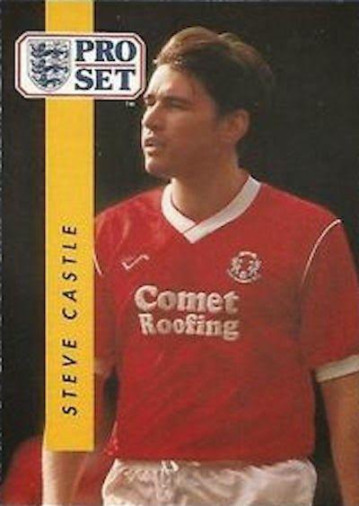 Steve Castle of Leyton Orient in 1990.