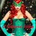 Poison Ivy Green Leather Mask Batman Female Villain Comic Con Sexy Halloween Costume Masquerade Fetish Ball. $29.99, via Etsy.