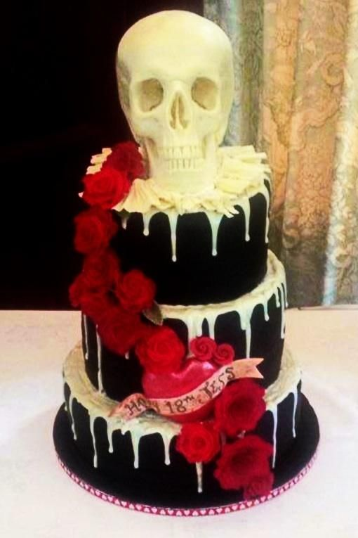 172 Best Cakes 18th Birthday Images On Pinterest 18