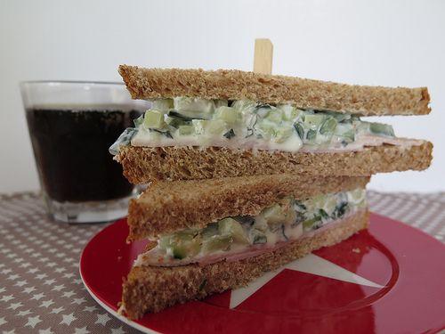Le sandwich au concombre, un classique des tea time anglais