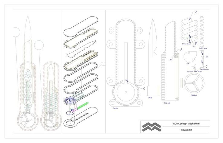 hidden blade blueprints also hidden blade schematics hidden blade