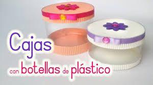 Resultado de imagen para manualidades faciles con botellas de plastico para niños