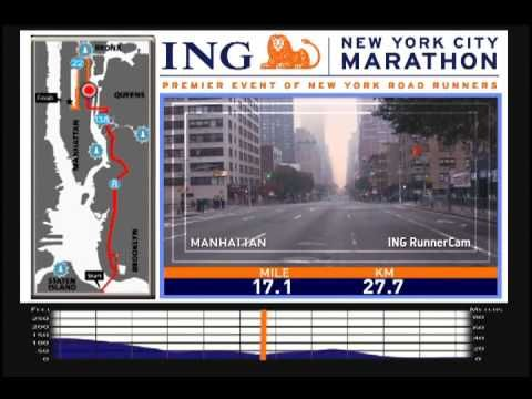 ING New York City Marathon Course Video.  I'm really looking forward to running this in November 2013!